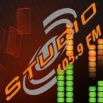 Logo da emissora Rádio Studio 105.9 FM