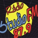Logo da emissora Rádio Studio 87.9 FM