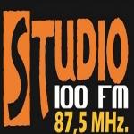 Logo da emissora Rádio Studio 100 87.5 FM
