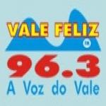Logo da emissora Rádio Vale Feliz 96.3 FM