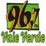 Logo da emissora R�dio Vale Verde 96.7 FM