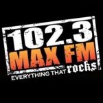 Logo da emissora WDQX 102.3 FM Max