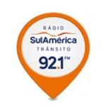 Logo da emissora R�dio Sulam�rica Tr�nsito 92.1 FM