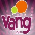Logo da emissora Rádio Vanguarda 95.5 FM