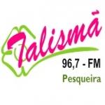 Logo da emissora R�dio Talism� 96.7 FM