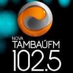 Logo da emissora R�dio Nova Tamba� 102.5 FM