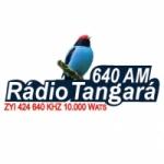 Logo da emissora Rádio Tangará 640 AM
