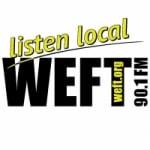 Logo da emissora Radio WEFT 90.1 FM