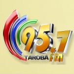 Logo da emissora Rádio Tarobá 95.7 FM