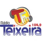 Logo da emissora R�dio Teixeira 104.9 FM