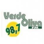 Logo da emissora R�dio Verde Oliva 98.7 FM
