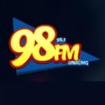 Logo da emissora R�dio Veredas 98.1 FM