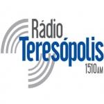 Logo da emissora R�dio Teres�polis 1510 AM