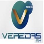 Logo da emissora R�dio Veredas 93.5 FM