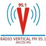 Logo da emissora Rádio Vertical 95.1 FM