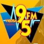 Logo da emissora Rádio Viçosa 95 FM