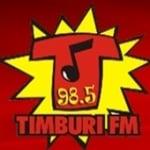 Logo da emissora R�dio Timburi 98.5 FM