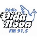 Logo da emissora R�dio Vida Nova 87.9 FM
