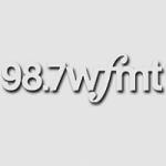 Logo da emissora Radio WFMT 98.7 FM