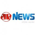 Logo da emissora R�dio Jovem Pan News Vit�ria 640 AM