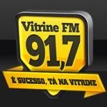 Logo da emissora R�dio Vitrine 91.7 FM