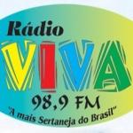 Logo da emissora R�dio Viva 98.9 FM