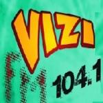 Logo da emissora R�dio Vizi 104.1 FM
