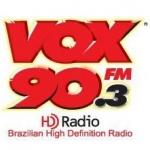 Logo da emissora R�dio Vox 90.3 FM