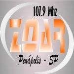 Logo da emissora Rádio Zoar 107.9 FM