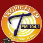 Logo da emissora R�dio Tropical 104.1 FM