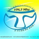 Logo da emissora Rádio São Francisco 106.3 FM