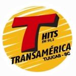 Logo da emissora Rádio Transamérica Hits 91.3 FM