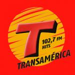 Logo da emissora Rádio Transamérica Hits 102.7 FM