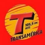 Logo da emissora Rádio Transamérica Hits 105.5 FM