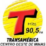 Logo da emissora Rádio Transamérica Hits 90.5 FM