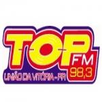 Logo da emissora R�dio Top 98.3 FM