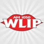 Logo da emissora WLIP 1050 AM