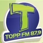 Logo da emissora Rádio Top 87.9 FM