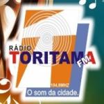 Logo da emissora Rádio Toritama 104.9 FM