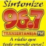 Logo da emissora R�dio Transertaneja 96.7 FM