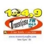 Logo da emissora Rádio Transviçosa 104.9 FM