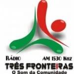 Logo da emissora R�dio Tr�s Fronteiras 1530 AM