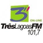 Logo da emissora R�dio Tr�s Lagoas 101.7 FM