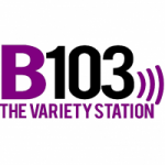 Logo da emissora Radio WGFB B103 103.1 FM
