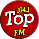 Logo da emissora R�dio Top 104.1 FM