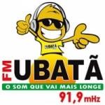 Logo da emissora Rádio Ubatã 91.9 FM