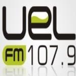 Logo da emissora R�dio UEL 107.9 FM