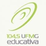 Logo da emissora Rádio UFMG 104.5 FM