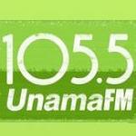 Logo da emissora R�dio Unama 105.5 FM