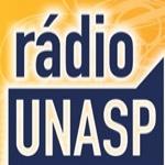 Logo da emissora Rádio Unasp 91.3 FM